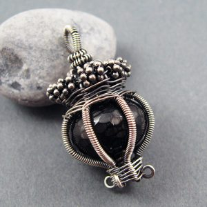 Wire Wrapped Pendant Tutorial - Caged Bead