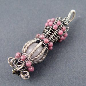 Wire Wrapped Pendant Tutorials - Caged Bead