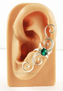 Wire Wrapped Swirly Ear Cuff Tutorials